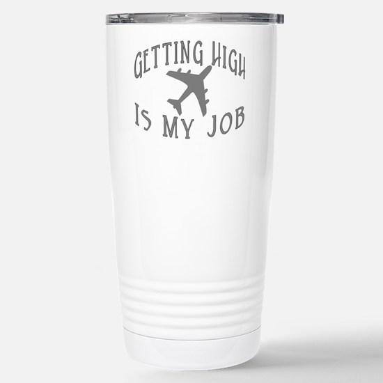 Airline Pilot Stainless Steel Travel Mug