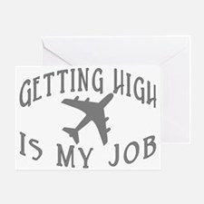 Airline Pilot Greeting Card