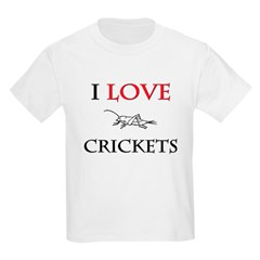 I Love Crickets T-Shirt