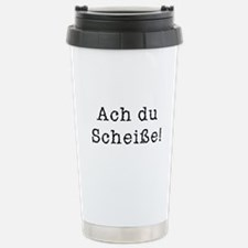 Ach du Scheisse Stainless Steel Travel Mug