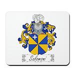 Salomoni Family Crest Mousepad