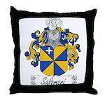 Salomoni Family Crest Throw Pillow