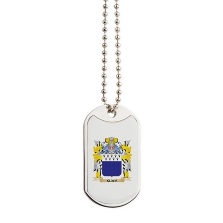 Klaus Coat of Arms - Family Crest Dog Tags