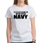 Property of US Navy Women's T-Shirt
