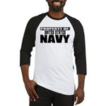 Property of US Navy Baseball Jersey