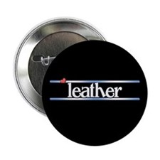 """Leather 2.25"""" Button"""