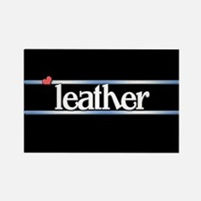 Leather Rectangle Magnet