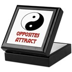OPPOSITES ATTRACT Keepsake Box