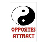 OPPOSITES ATTRACT Postcards (Package of 8)