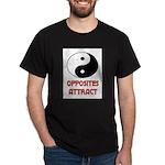 OPPOSITES ATTRACT Dark T-Shirt