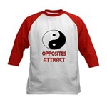 OPPOSITES ATTRACT Kids Baseball Jersey