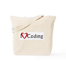I Heart Coding Tote Bag