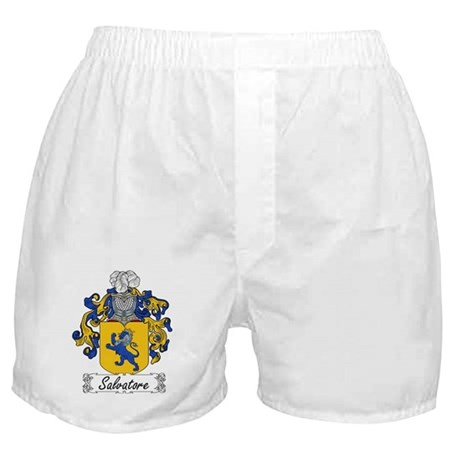 Salvatore Family Crest Boxer Shorts