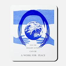 Peace Poster Mousepad