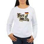 Bier Mich Women's Long Sleeve T-Shirt