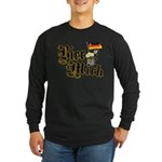 Bier Mich Long Sleeve Dark T-Shirt