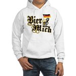 Bier Mich Hooded Sweatshirt