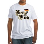 Bier Mich Fitted T-Shirt
