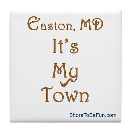Easton It's My Town Tile Coaster