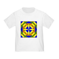 Yellow Compass Design T