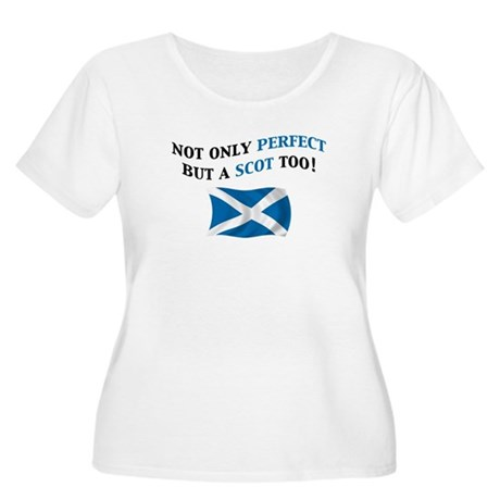 Perfect Scot 2 Women's Plus Size Scoop Neck T-Shir