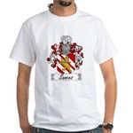 Sances Family Crest White T-Shirt