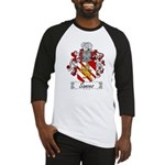 Sances Family Crest Baseball Jersey
