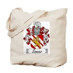 Sances Family Crest Tote Bag