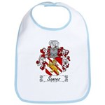 Sances Family Crest Bib