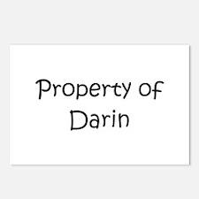 Cute Darin Postcards (Package of 8)