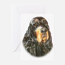Gordon Setter Greeting Cards (Pk of 10)