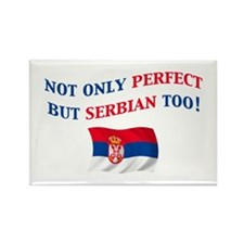 Perfect Serbian 2 Rectangle Magnet