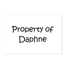 Unique Daphne Postcards (Package of 8)