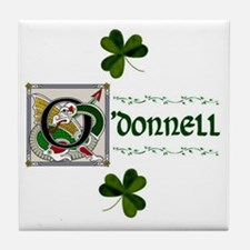 O'Donnell Celtic Dragon Ceramic Tile