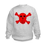 Peace Skull Kids Sweatshirt