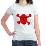 Peace Skull Jr. Ringer T-Shirt
