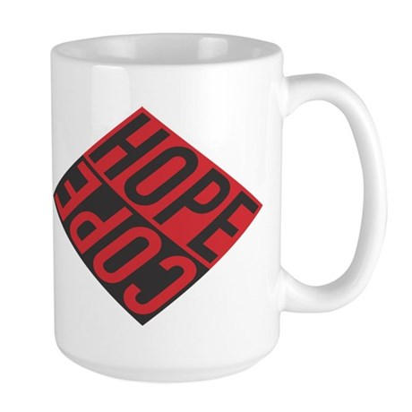 HOPE/COPE Large Mug