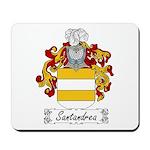 Santandrea Family Crest Mousepad