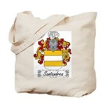 Santandrea Family Crest Tote Bag