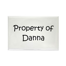 Cute Danna Rectangle Magnet