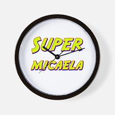 Super micaela Wall Clock