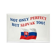 Perfect Slovak 2 Rectangle Magnet
