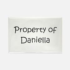 Unique Daniella Rectangle Magnet