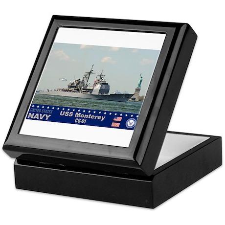 USS Monterey CG-61 Keepsake Box