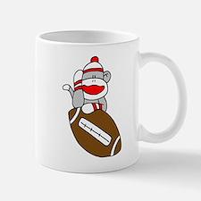Sock Monkey and Football Mug