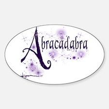 Abracadabra Oval Decal
