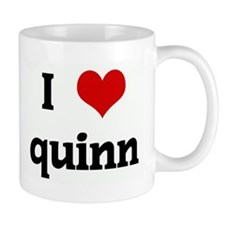 I Love quinn Mug