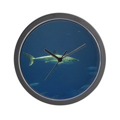 White Shark Gifts Wall Clock