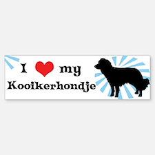 I Love my Kooikerhondje Bumper Bumper Bumper Sticker