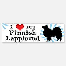 I Love my Finnish Lapphund Bumper Bumper Bumper Sticker